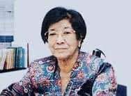 Salma Ismail, the first female Malay doctor in Malaysia.